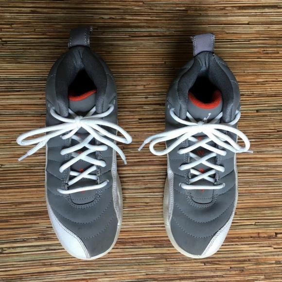 bea28663f99 Jordan Shoes | Kids Two 3 12c Gray White Orange 23 | Poshmark